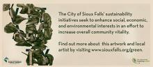 Sioux Area Metro ad features artwork by Augustana graduate